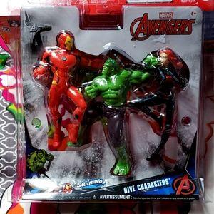 SwimWays Marvel Avengers Dive Characters